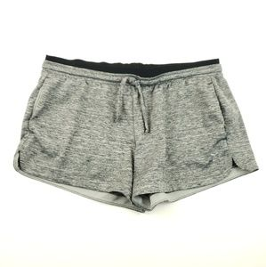 Old Navy womens size Medium gray stretch shorts